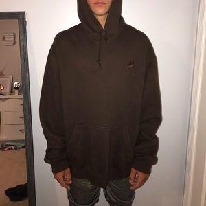 Brown Nike sweatshirt